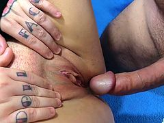 Thick and juicy plumper shows her tits and plump pussy She rubs her pussy Then she sucks a thick and stiff dick so good Then gets her pussy reamed good and deep in many positions
