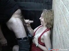She decided to flaunt out her body once more with this mature guy in the backyard. And she's right, she has a body of a woman and she definitely got it as cocks will surely turn hard with this hot clip.
