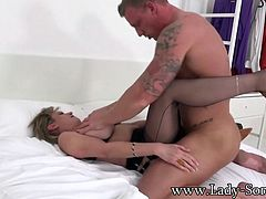 Blackmailed Housewife Fucked Bareback