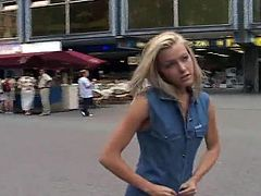 Sophie Moone Nude in Public
