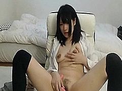 Japanese babe fucked and creampied-Watch Part2 on SuzCam .com