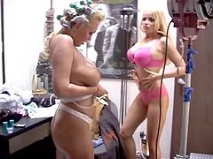 Mary Carey And Monique Dane Large Boobs In Being Ron Jeremy