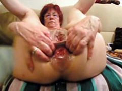German granny anal prolapse and fisting