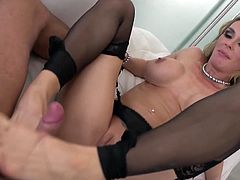 Tanya Tate fucks the gardener