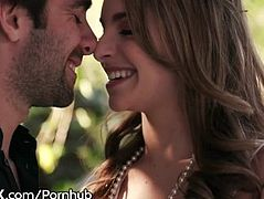Sexy Kimmy Granger Gets A Creampie In Public- HOT!
