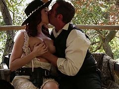 Posh seductress Chanel Preston is fucked by one hot blooded dude
