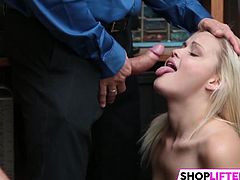 Stupid Sweety Madison Gets Nailed For Theft