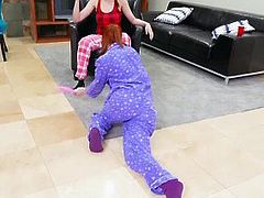 BFFS - Wild Teens Pajama Party Ends With Orgy