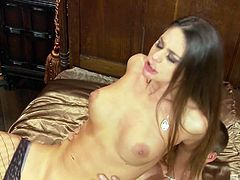 Randy paramour Cathy Heaven is fond of a juicy dick of her new lover