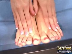 Jenna Haze Milk On Her Feet