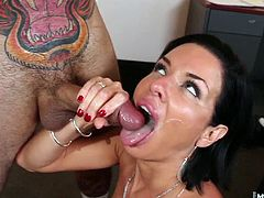 This town is owned, and run, bu hot women over 40 and theyve got high expectations She loves being the first point of contact, getting to taste all the fresh meat before its sent to the other cougars to dine on, and Veronica Avluv takes her job as cum taster as seriously as the pussy slamming she demands
