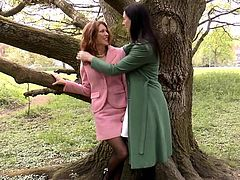 Classy sappho mature queened by ginger babe