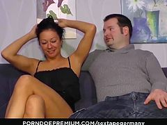 SEXTAPE GERMANY - Amateur chick gives intense blowjob