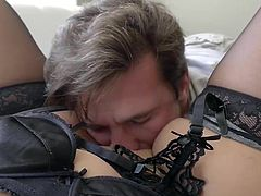 big booty milf gets her ass drilled by a huge rod