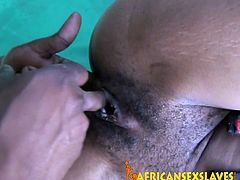 This horny black beauty has some sizzling hot passion to share with her boy and she stops at nothing to get her amazing holes stretched to the absolute max.