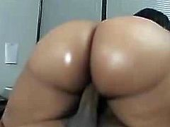 Thick Black Woman Getting Fucked Good