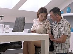 Sometimes a good proper sex with experienced man is the best way for Marina to relax when preparing for an important test in college. Especially when he knows how to make her wet... The sex was...