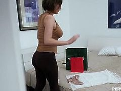 Pervmom - Horny Mom Fucks Stepson One Last Time Full Video
