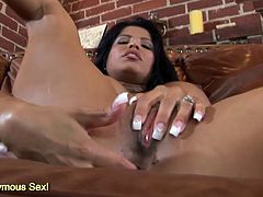 Giant boobs Alexis Amore ass riding on massive cock