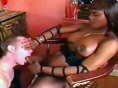 black shemale,tranny used white boy like slut,whore