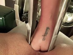Giant speculum, anal close up, super nurse, doctor