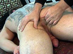 Fenix loves being rimmed but this was his 1st prostate stim
