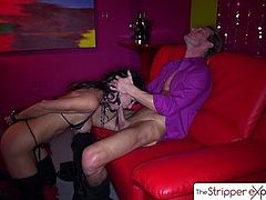 The Stripper Experience- Jessica Jaymes fucking a big dick