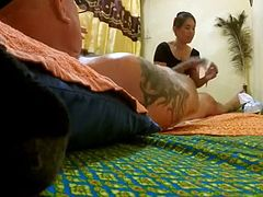 Hot Thai Massage Blowjob with very Happy ending