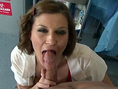 Sara Stone is a Naughty Nurse