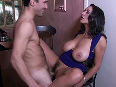 Jaw dropping seductress with yummy big tits Persia Monir gets her pussy licked and fucked
