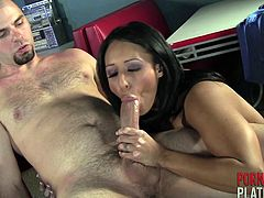 Faustine Lee in stockings logged hardcore compactly