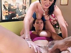 Gianna and Sophie Dee tackle a BBC
