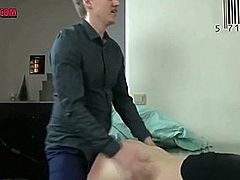 Busty German Blonde Fucks Loudly and Orgasms On Cam