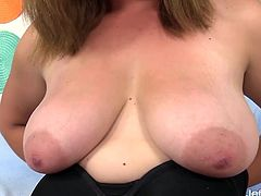 Sexy plumper introduces herself She shows her juicy tits pussy and ass She sucks a machine dildo Then lets the machine fuck her plump pussy in many positions and various speeds until she gets orgasm