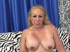 Thick Grandma Sucks Mean Dick and Fucks