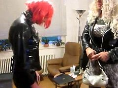 tv rubber whore and her mistress