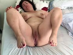 Amateur Mature pregnant Housewife 51 years Squirting