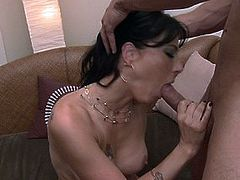 Hot Latin MILF loves having her pussy and asshole licked