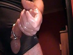 FRONTAL SLOW WANK AND CUM SQUIRT WITH MUSIC
