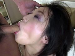 Uncensored JAV amateur Mai Konishi gives a nearly nonstop blowjob before migrating to a love hotel bed for even more oral both given and received in HD with English subtitles