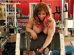 tabbyanne sexy nude workout hardcore gym liverpool muscle