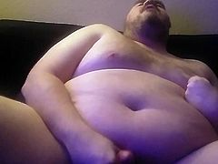 Daddycub Jackoff HUGE LOAD
