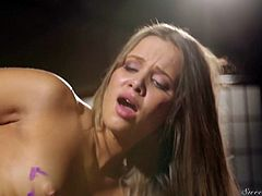Yummy wench Liza Rowe is fucked by her hot blooded boyfriend