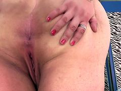 Sexy BBW introduces herself She shows her tits ass and pussy She sucks a fucking machine and then rides it in her plump pussy in various speed positions until she gets orgasm