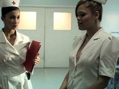 sexy lucious babes dressed as nurses