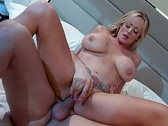 Perfect milf goes fucking hard with horny stallion