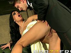 Secret Agent Danny D pounds Honey Demon in the ass - Brazzers