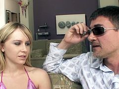 Womanizer knows how to satisfy pretty hot blonde Kelly Klass