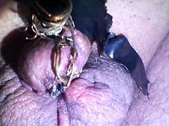 Painful electro cum my tiny pathetic penis humiliate it