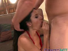 Yummy MILF Nikki Daniels is eager for dick riding action